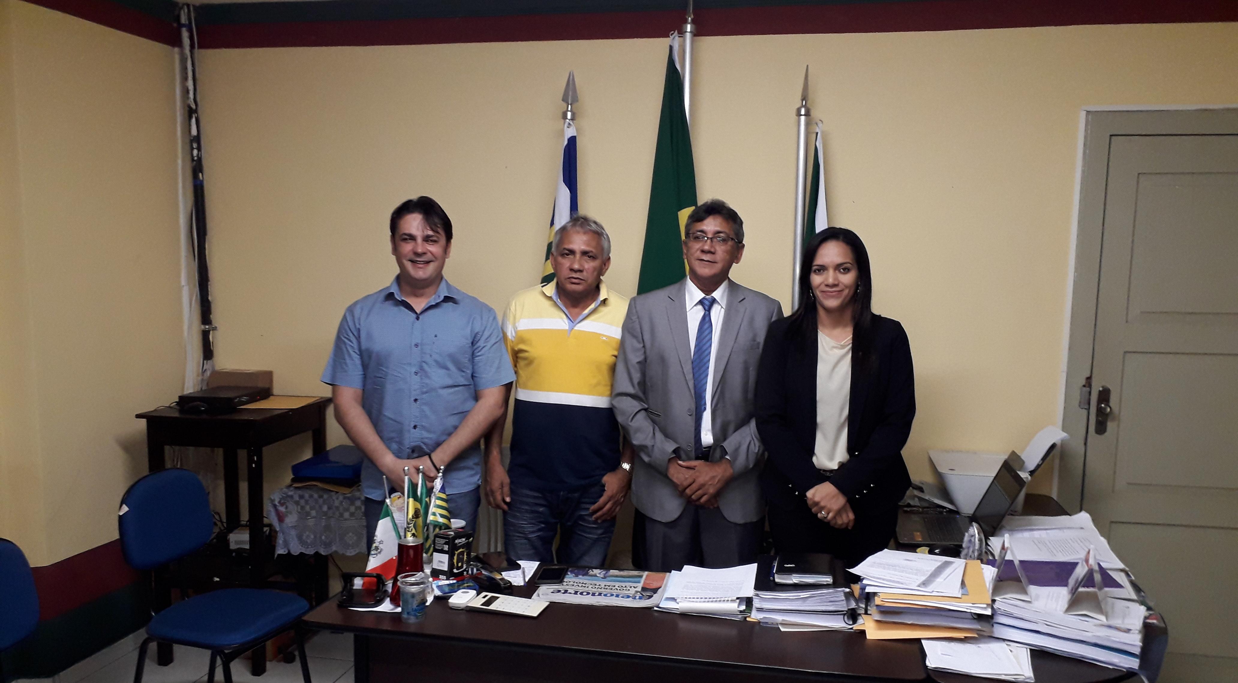Câmara Municipal de José de Freitas empossa nova Mesa Diretora