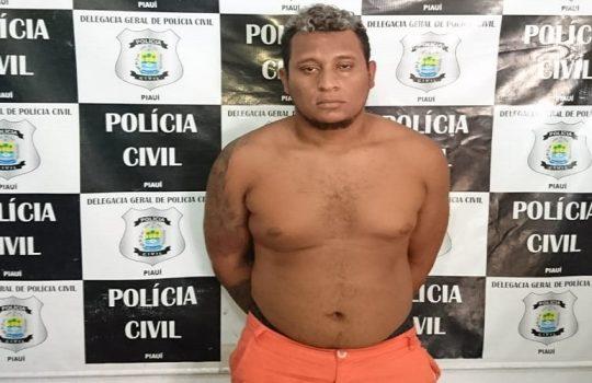 Acusado de arrombar e furtar órgão de trânsito é preso pela Policia de José de Freitas