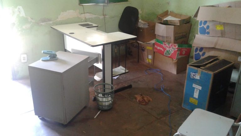 Assaltantes invadem órgão de trânsito em José de Freitas e roubam aparelhos eletrônicos