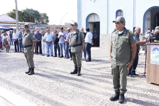 Solenidade marca troca de comando do 16º Batalhão da Polícia Militar de José de Freitas