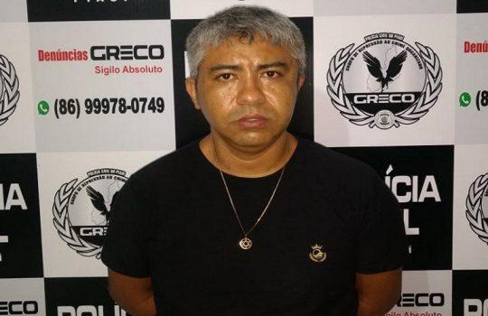 Operação Cargas: GRECO prende integrante de quadrilha em José de Freitas