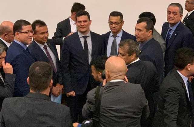 Fábio Abreu participou de reunião com Sérgio Moro durante apresentação do projeto de lei anticrime