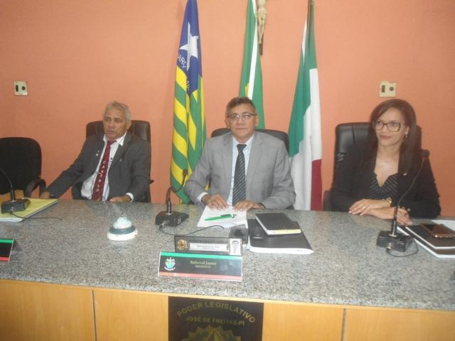 Câmara de Vereadores de José de Freitas inicia trabalhos legislativo no ano de 2019