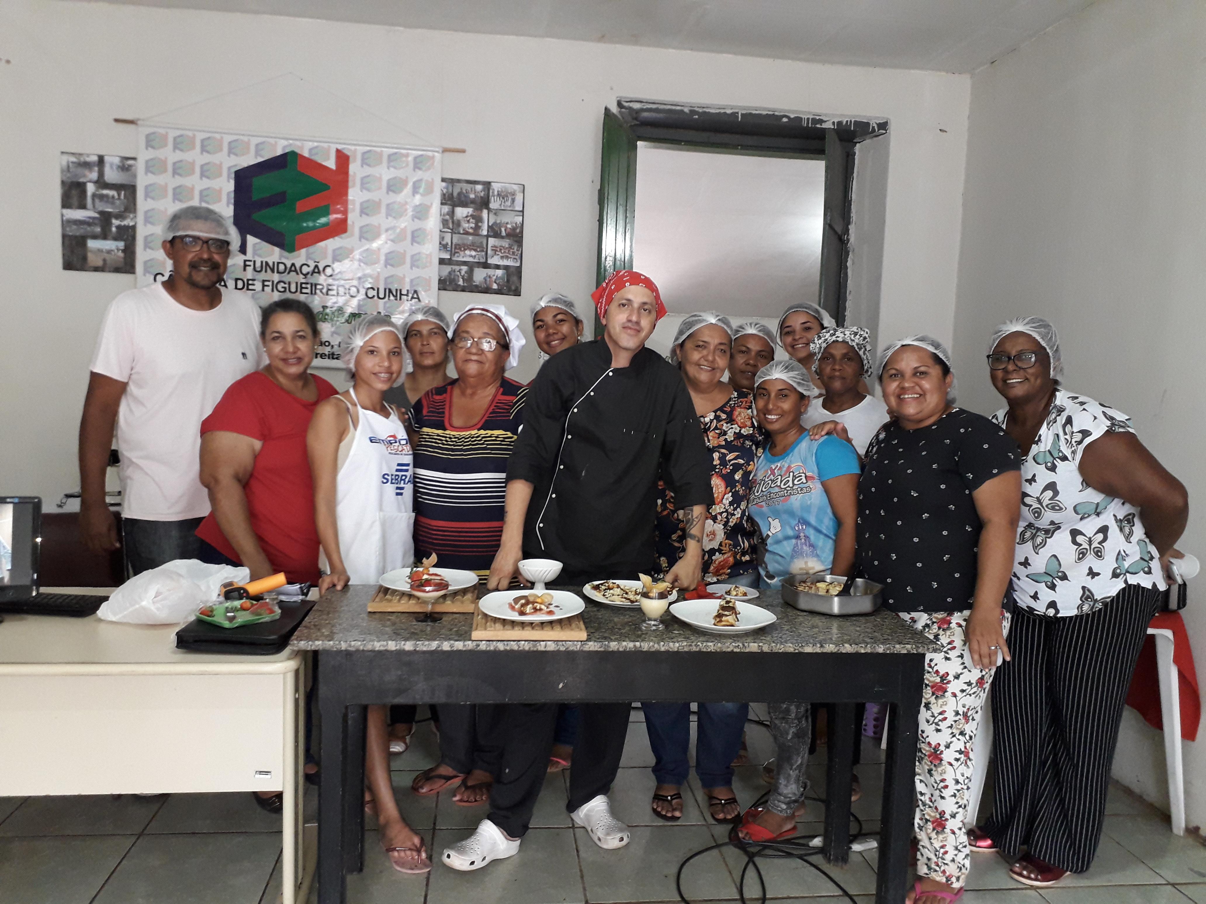 Curso de Gastronomia acontece com Êxito em José de Freitas