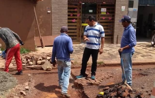 Secretaria de Obras realiza diversas ações nos últimos dias na cidade de José de Freitas