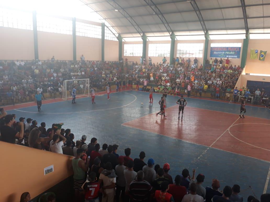 Em jogo eletrizante, Seleção de José de Freitas perde para Parnaíba na final da Copa Norte de Futsal
