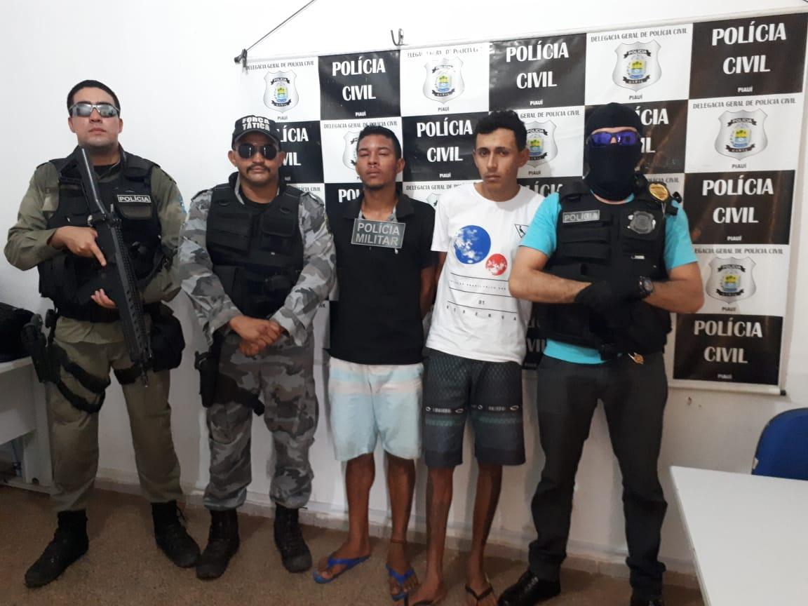 Polícia prende dois suspeitos de matar jovem em José de Freitas