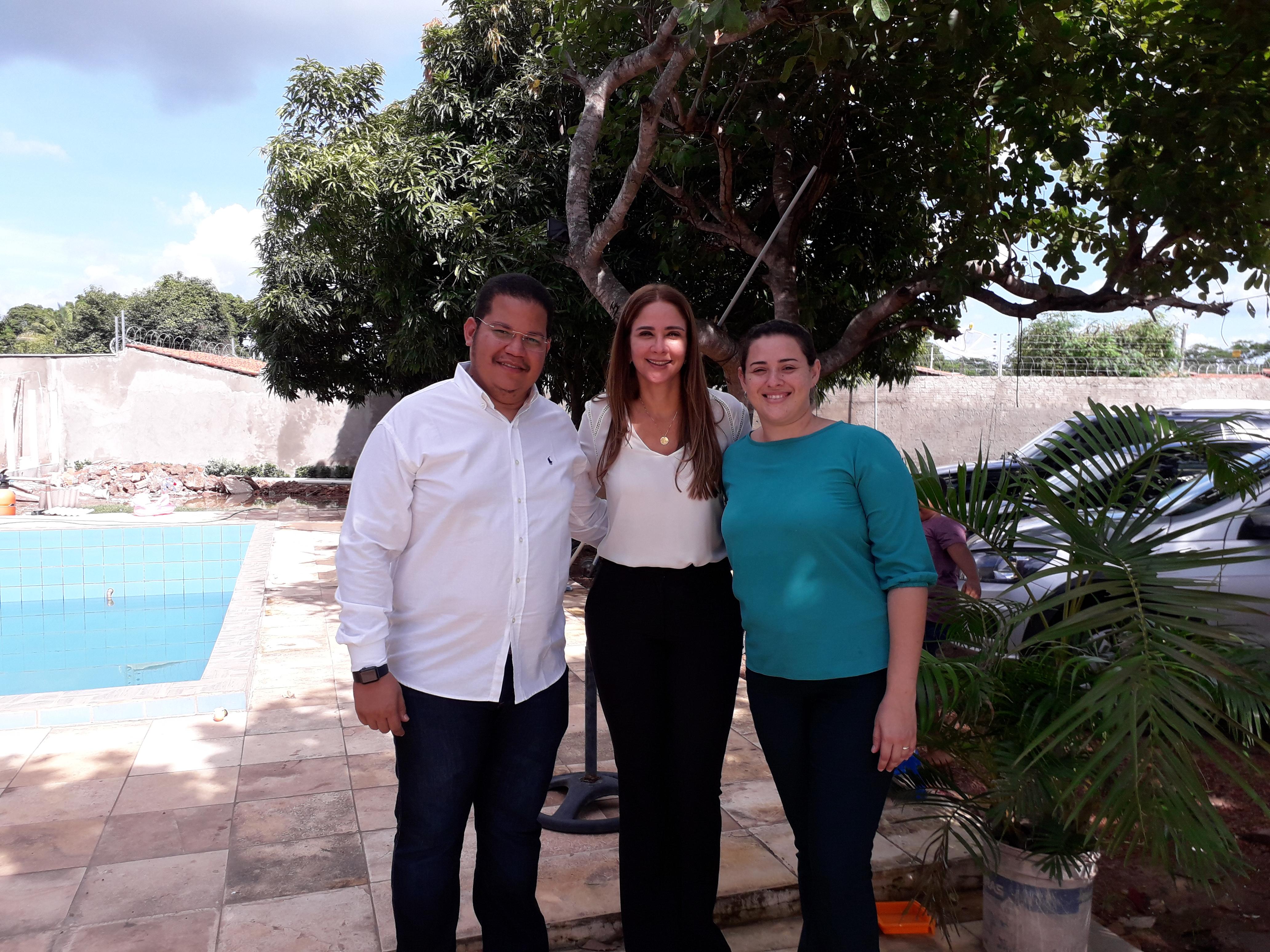 Deputada Estadual Lucy Soares visita José de Freitas e confraterniza com Apoiadores