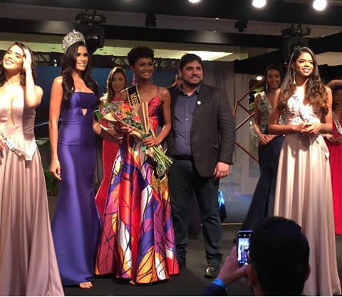 Raimunda Lima é eleita Miss Simpatia e fica em 4º lugar no  Miss Piauí BE Emotion 2019