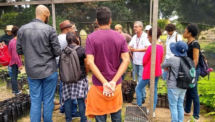 Alunos de Gastronomia de Teresina visitam o Campus do IFPI de José de Freitas