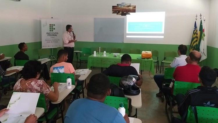IFPI Campus José de Freitas realiza aula inaugural de Especialização em Produção de Grãos