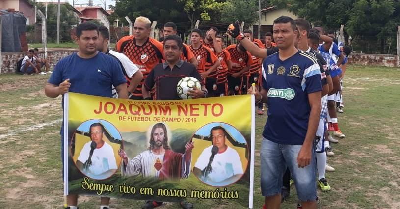 Abertura da primeira Copa Saudoso Radialista Joaquim Neto é realizada em José de Freitas