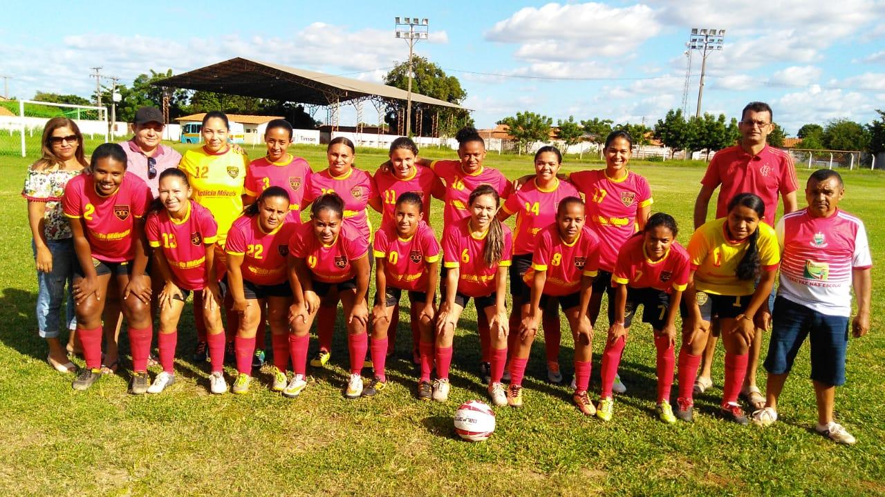 Clube Aliança de futebol Feminino representa cidade de José de Freitas na III Taça Bola Mulher em Timon