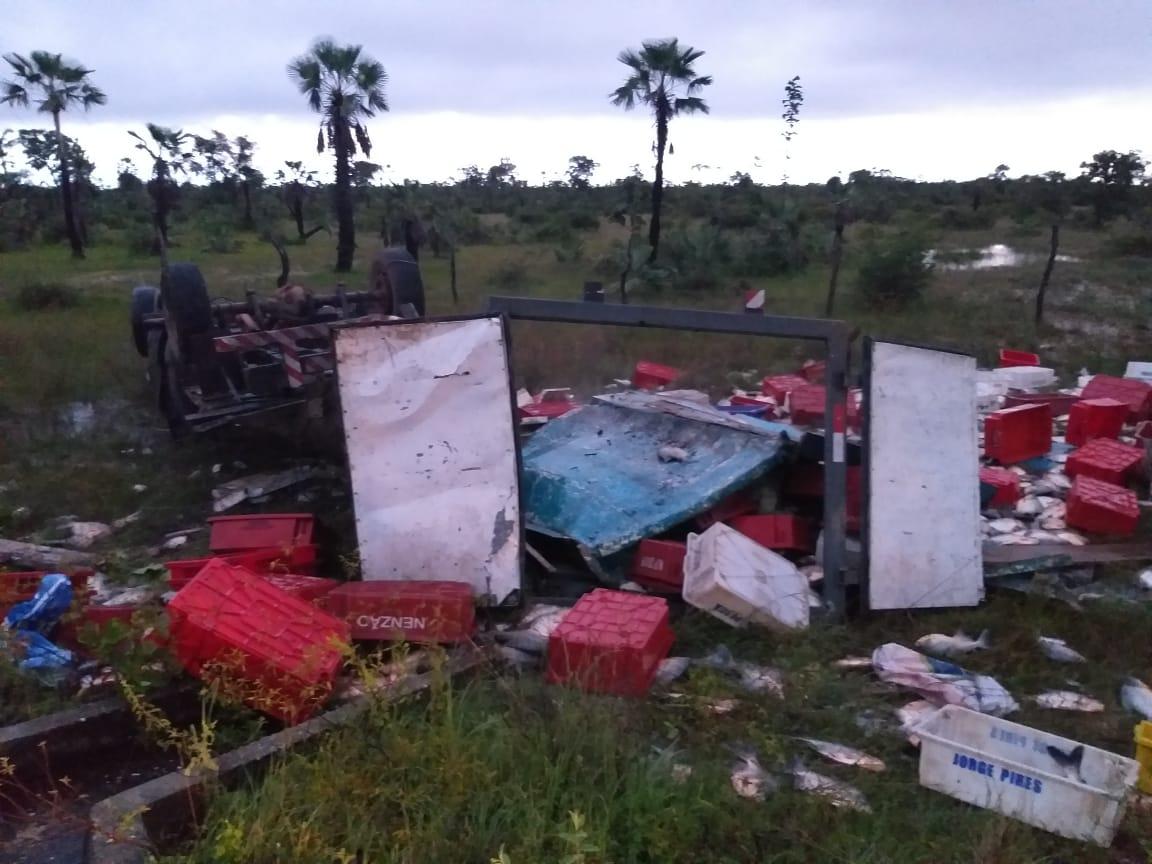 Mecânico morre em grave acidente na PI-113 em José de Freitas