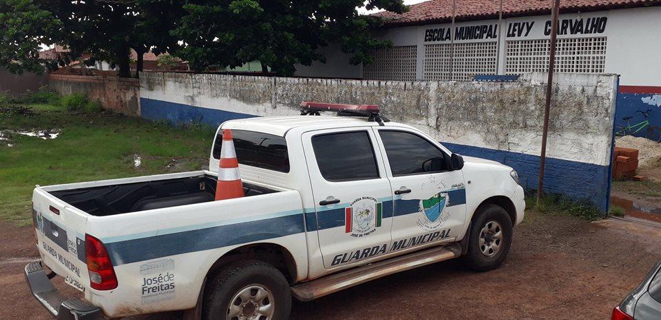 Guarda Municipal de José de Freitas realiza Ronda Escolar em Escolas Municipais