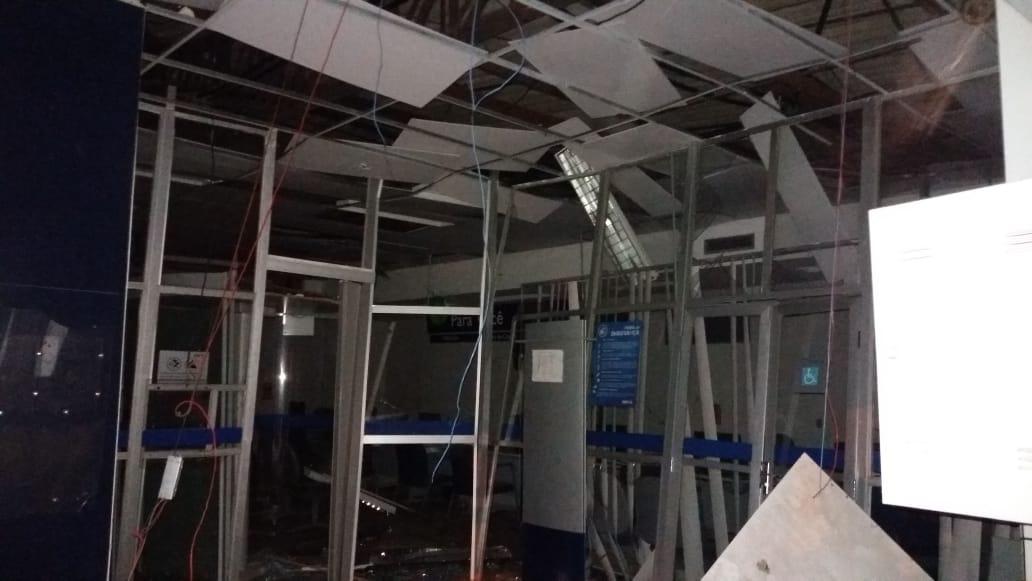 Quadrilha fortemente armada assalta dois bancos em Campo Maior
