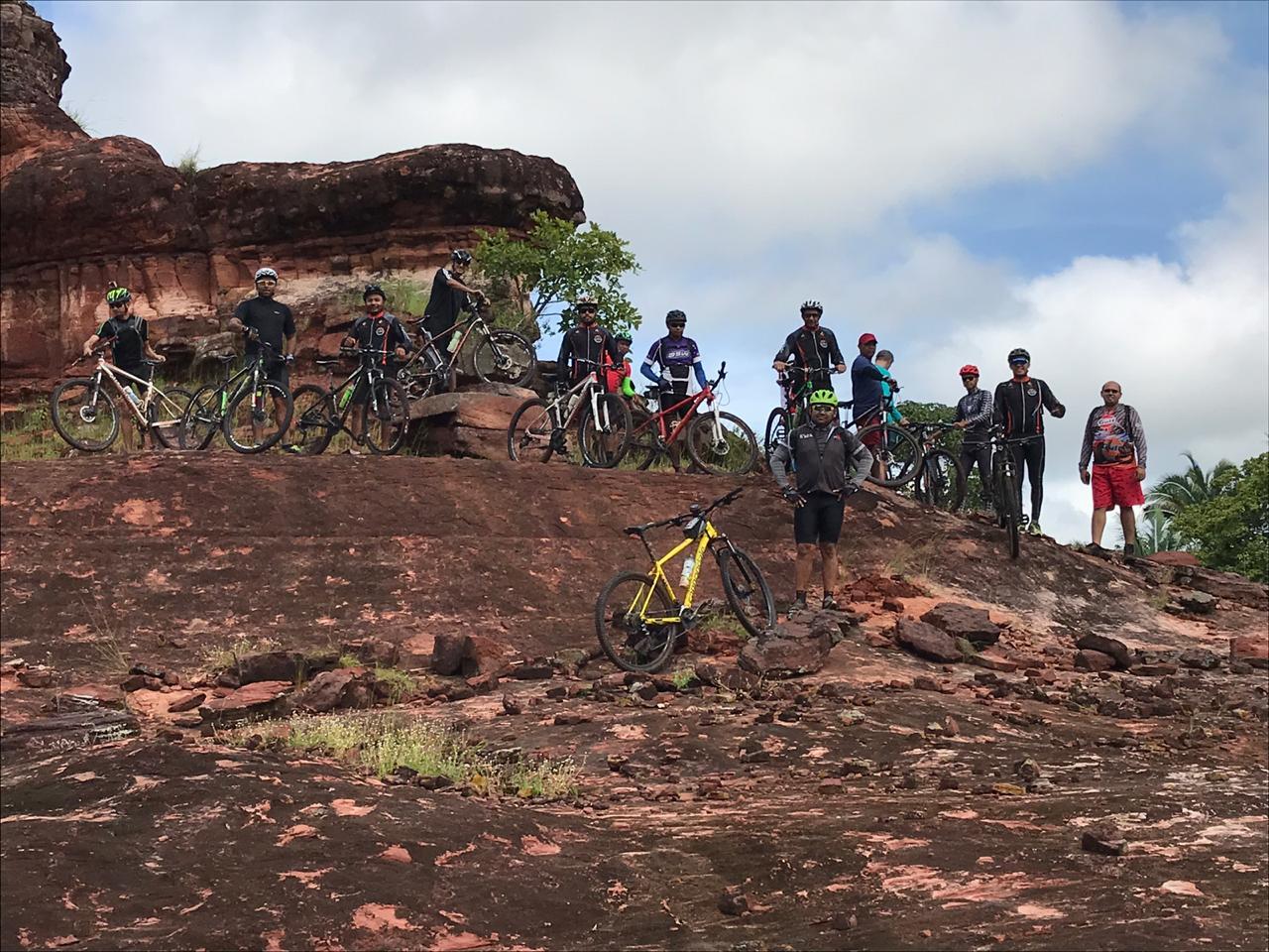 Grupo NO BRAKES comemora aniversário de 141 de José de Freitas com Passeio Ciclístico