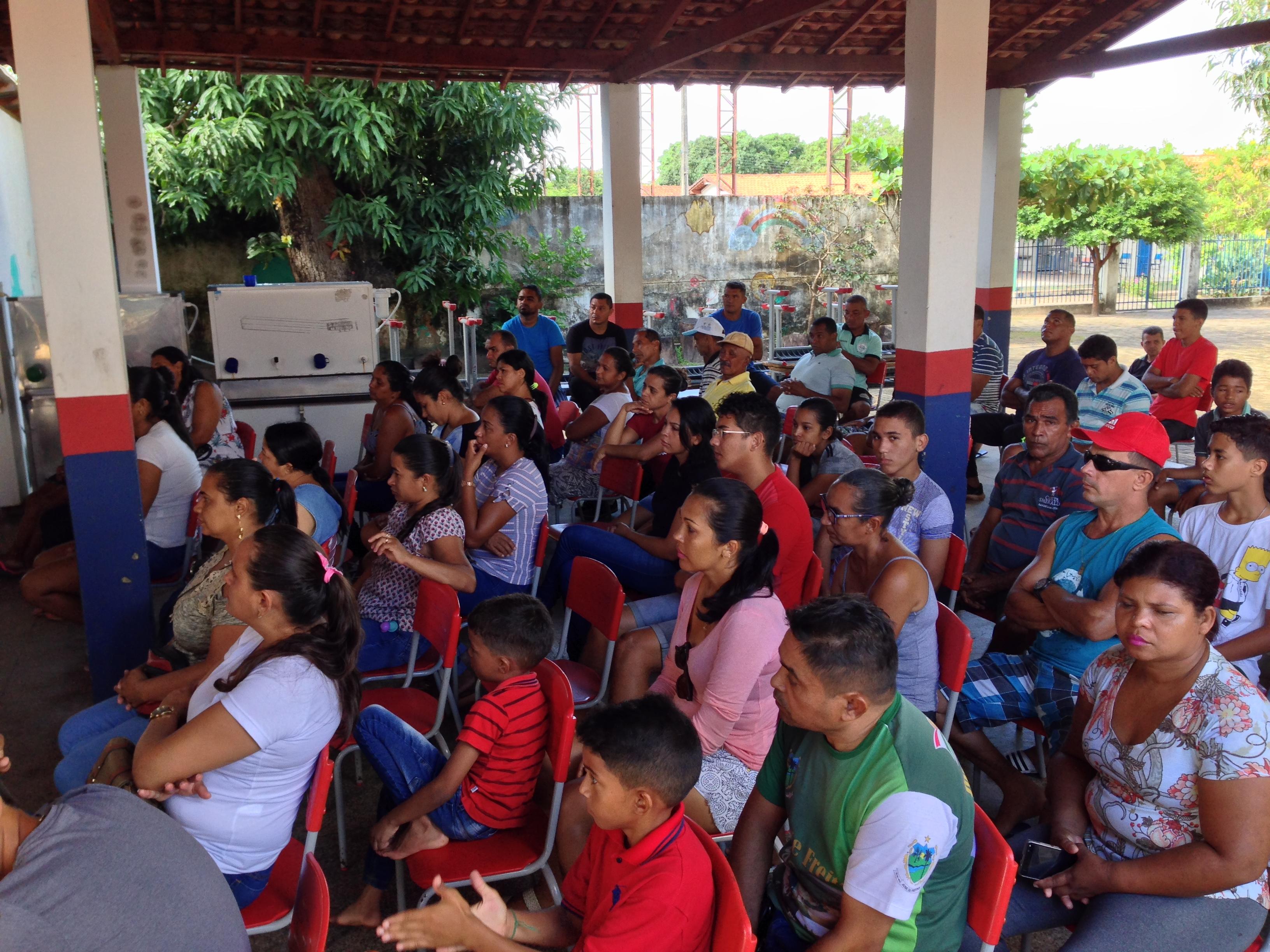 Escolinha Geração do Futuro de José de Freitas realiza reunião com pais e responsáveis