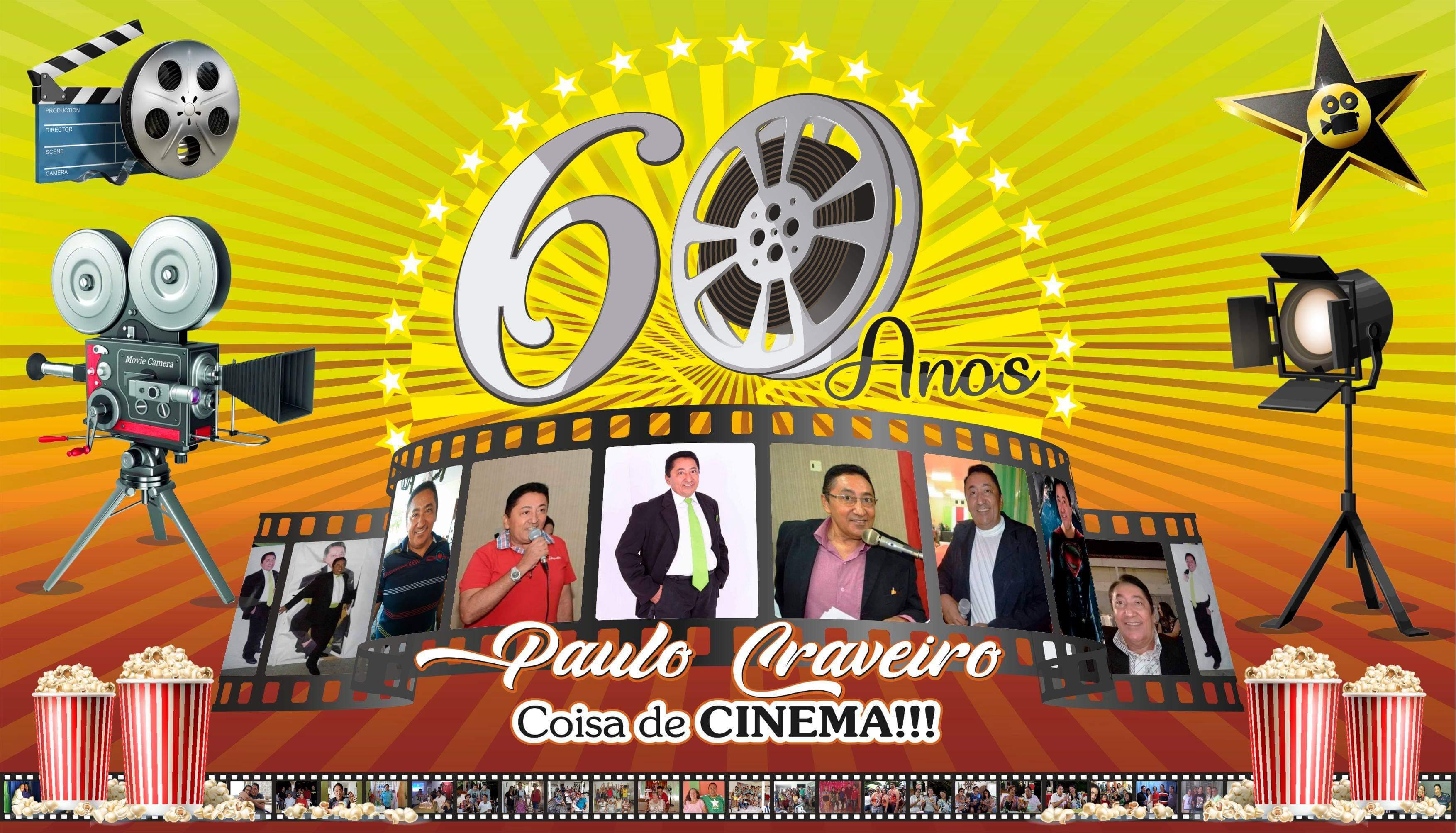Paulo Craveiro comemora a chegada da Nova Idade com muita Alegria!(Parte I)