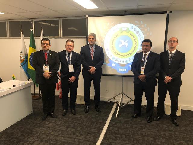 Fábio Abreu é eleito vice-presidente do Colégio Nacional de Secretário de Segurança Pública