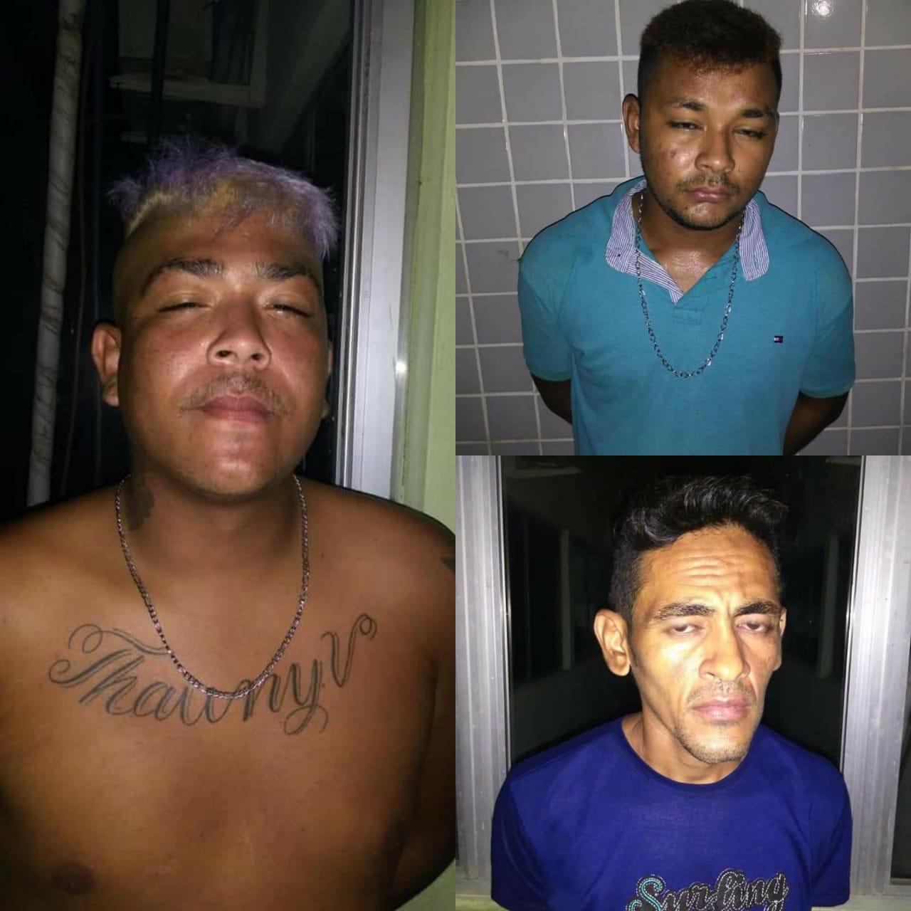 Polícia Militar prende três pessoas acusadas de tomar moto de assalto em José de Freitas