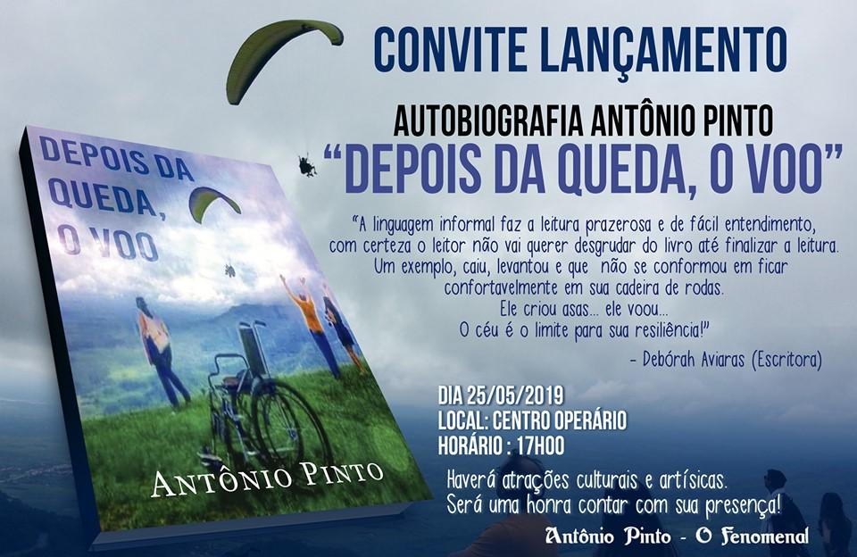 Ex-vereador de José de Freitas Lançará seu Livro dia 25 de maio em José de Freitas