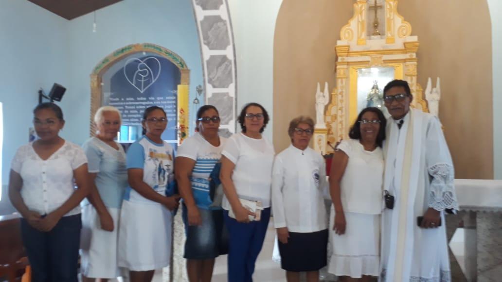 Padre Primo comemora seu aniversário de 81 anos ao lado de amigos com missa em José de Freitas