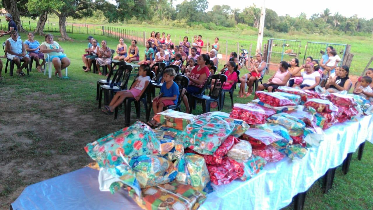 Comunidade Graça promove festa em homenagem as Mães da comunidade em José de Freitas
