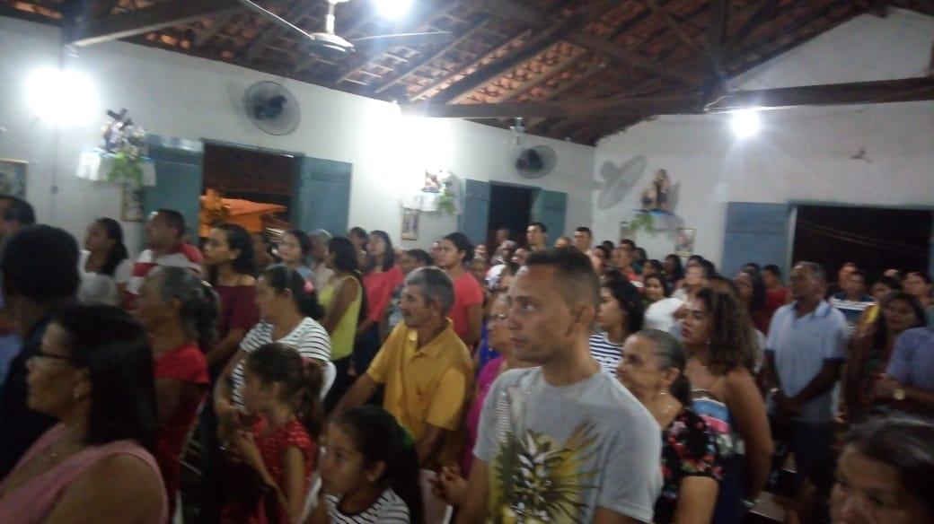 Comunidade Boqueirão dos Adolfo recebe vários Fiéis nos festejos do Sagrado Coração de Maria