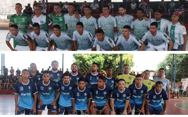Seleções de futsal de Joaquim Pires e Pedra de Fogo de União se enfrentam na grande final da XX Taça Cidade de José de Freitas