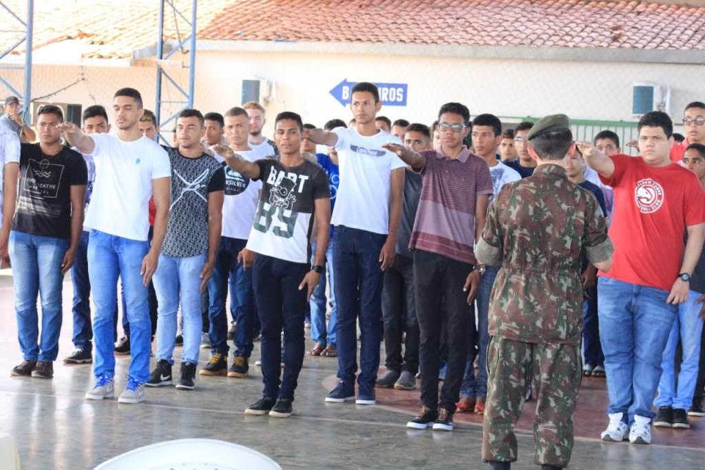 Junta Militar realiza Solenidade de entrega dos certificados CDI em José de Freitas