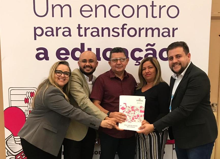 Educandário Santo Elias se destaca e participa do encontro do Grupo Somos Educação em São Paulo