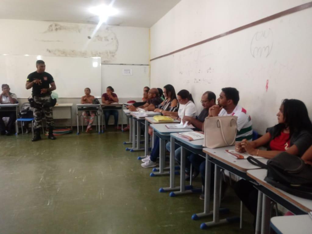 Educadores sociais do Projeto Mirim Cidadão de José de Freitas participam de capacitação