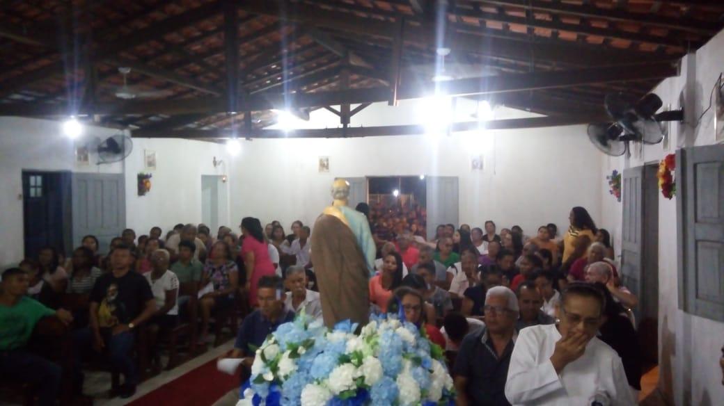 8º Noite dos festejos de São Pedro em José de Freitas atrai vários fiéis e Autoridades