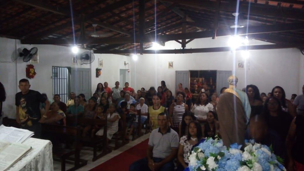 Devotos de São Pedro participam da última noite dos festejos em José de Freitas