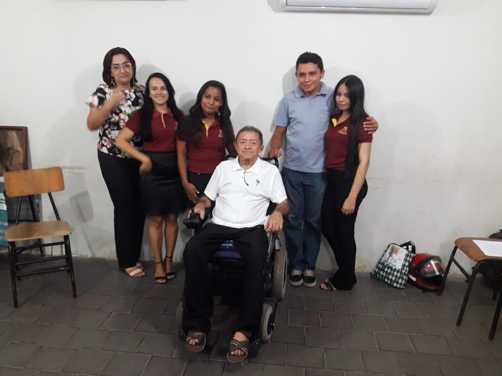 Ex-vereador e Escritor de José de Freitas ministra palestra para Alunos Universitários em José de Freitas