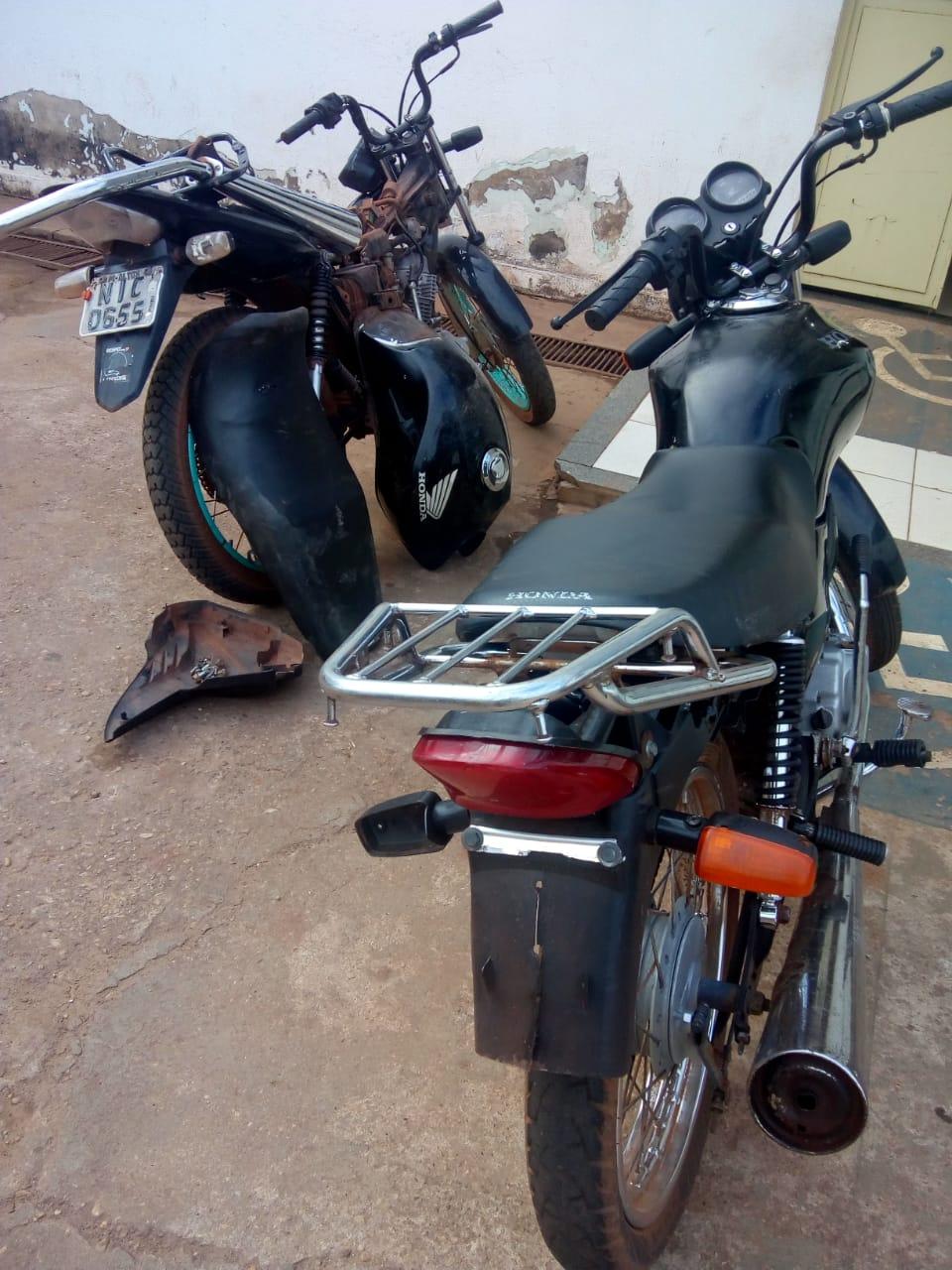 Polícia Militar recupera duas motocicletas na zona rural de José de Freitas