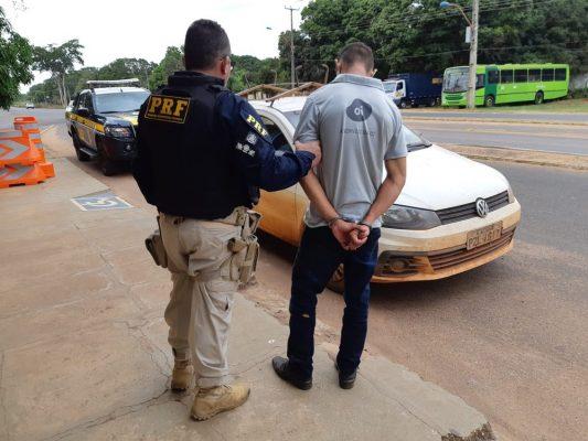 Jovem furta carro de empresa em José de Freitas é preso Pela PRF em Teresina