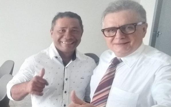 Em encontro com o dep. federal Flávio Nogueira, Vereador Zé Totó faz várias reivindicações para José de Freitas