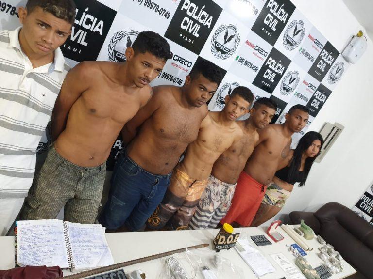 GRECO prende grupo que planejava assaltar bancos em José de Freitas