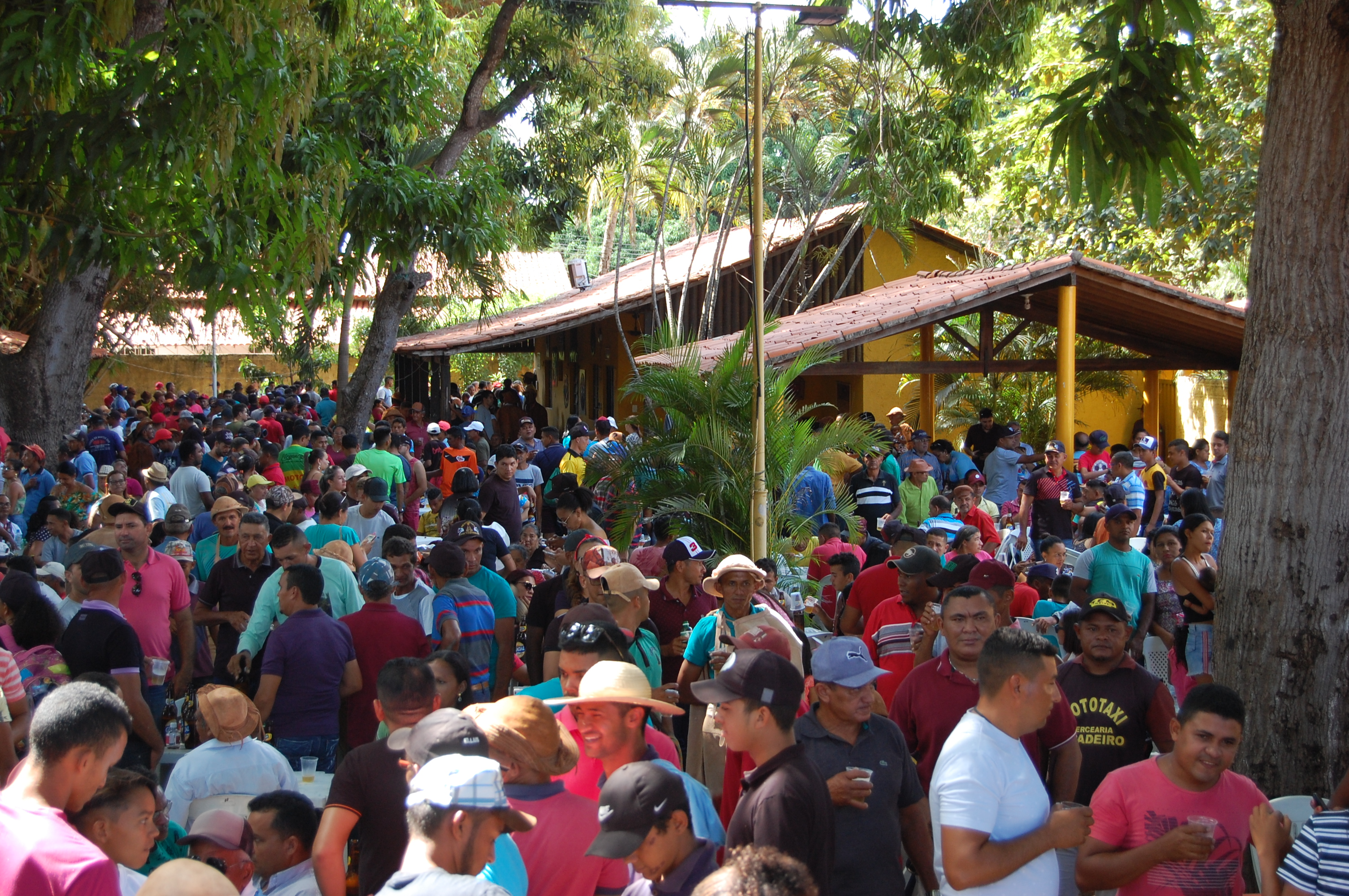 Tradicional festa do vaqueiro é realizada na residência do ex-prefeito de José de Freitas Robert Freitas