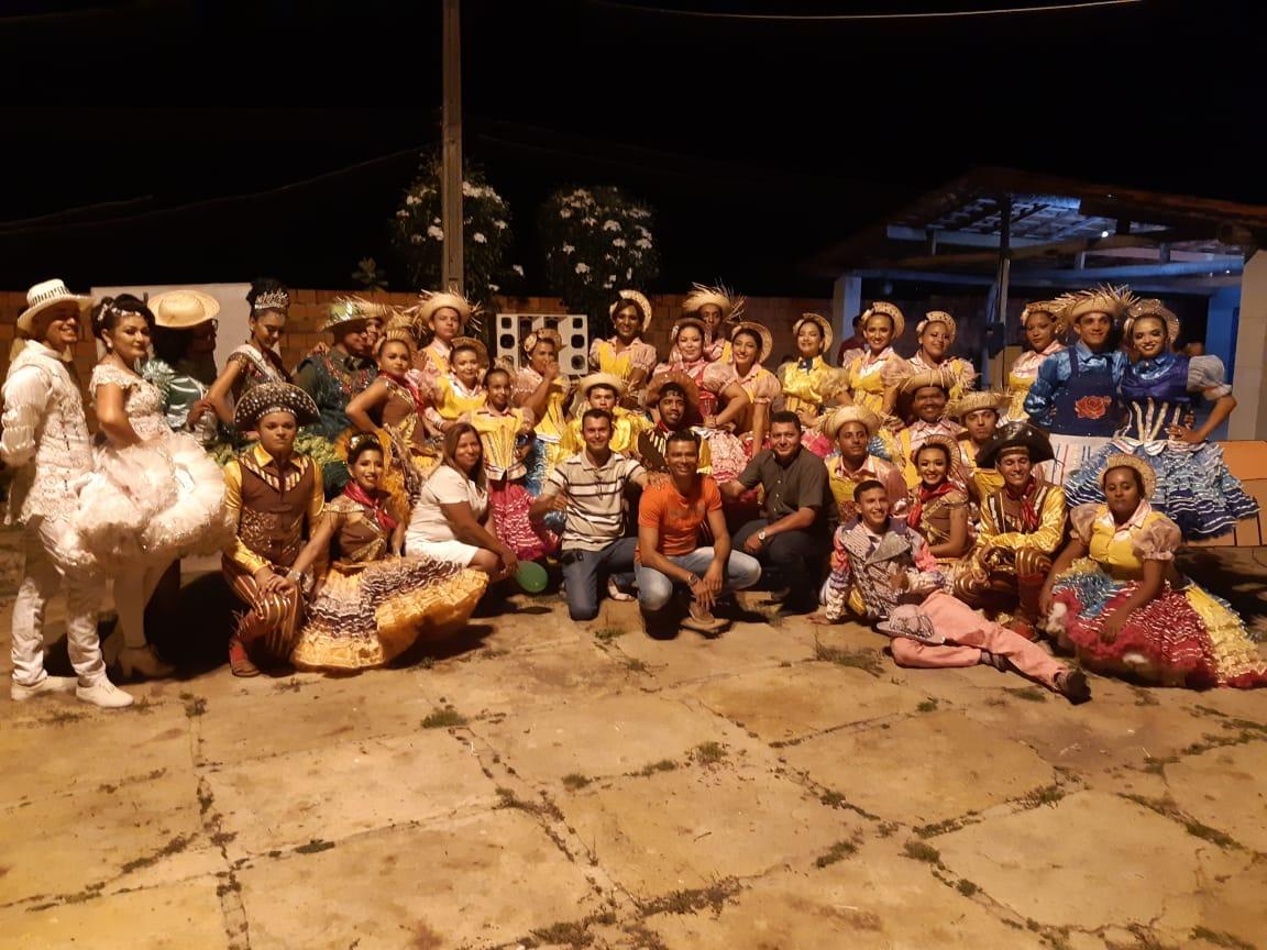 Quadrilha Junina Pisada Matuta realizou última apresentação da turnê 2019 no Bairro São Pedro em José de Freitas