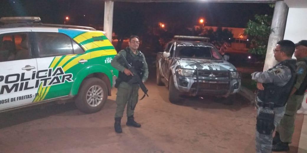 homicida é preso após perseguição e troca de tiros com a polícia de José de Freitas