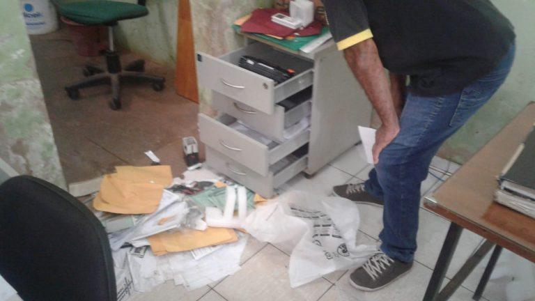 Criminosos invadem órgão de trânsito em José de Freitas e roubam aparelhos
