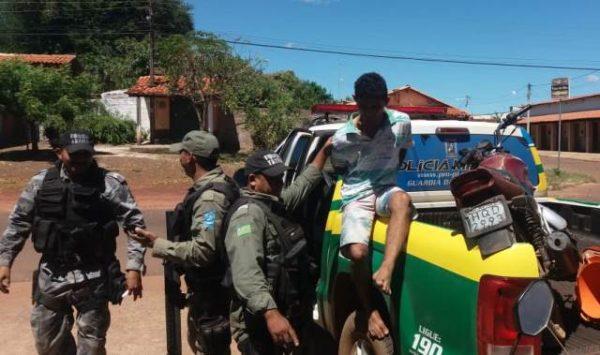 Polícia Militar de José de Freitas prende Homem acusador de Homicídio
