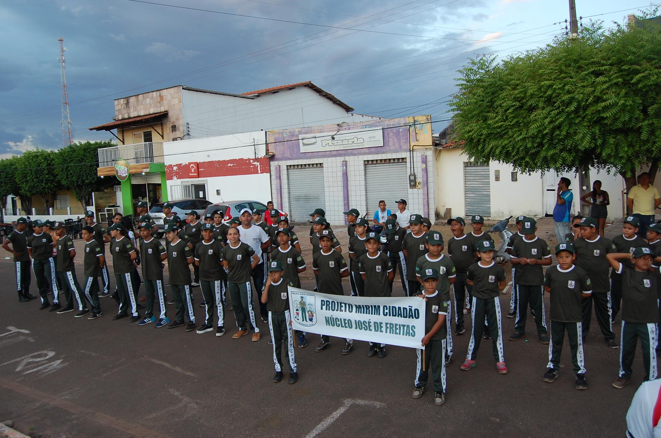Cidades de Cabeceiras e Lagoa Alegre dão exemplo de Cidadania e realizam desfile cívico da Independência