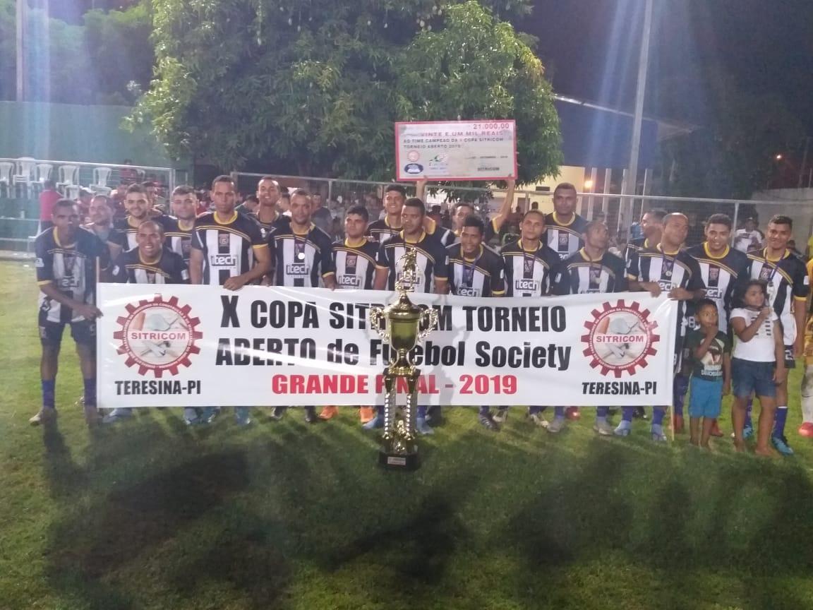 Inforcopy é campeão da 10ª Copa Sitricom de Futebol Society em Teresina