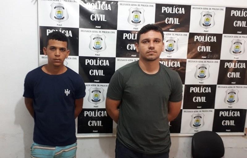 Polícia Civil cumpre mandado de prisão de dupla em José de Freitas envolvida em praticar vários roubos em Teresina