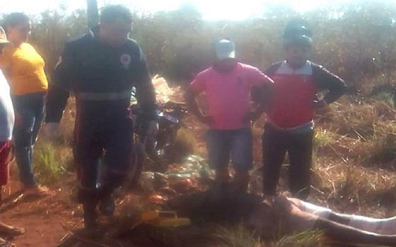 Homem sofre acidente após colisão entre veículos na PI-113 em José de Freitas