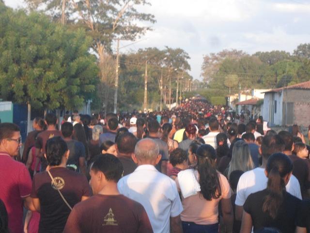 Veja o percurso da procissão de encerramento dos festejos de São Francisco em José de Freitas